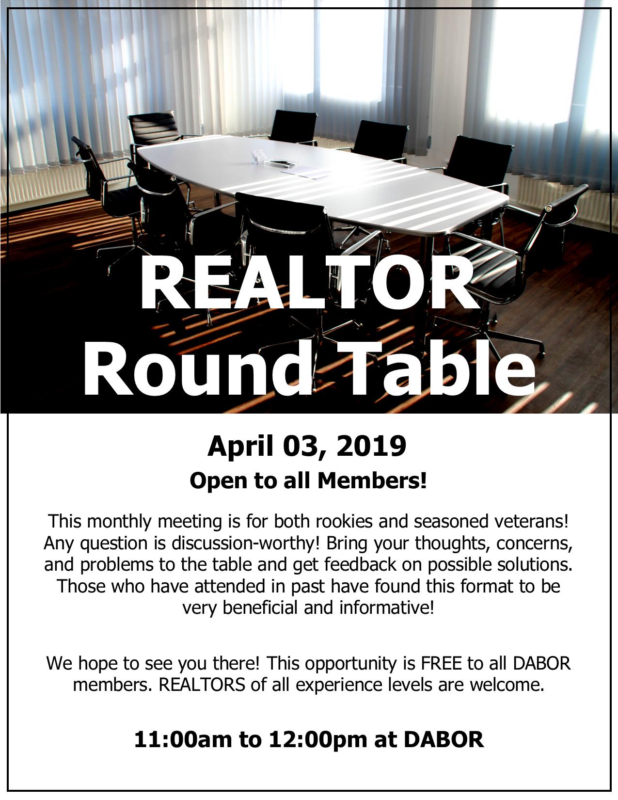 Stupendous Realtor Round Table Dearborn Area Board Of Realtors Download Free Architecture Designs Barepgrimeyleaguecom